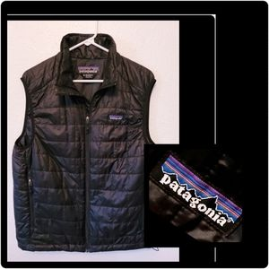 Patagonia Pristine Men's Black Nano Puff Vest M